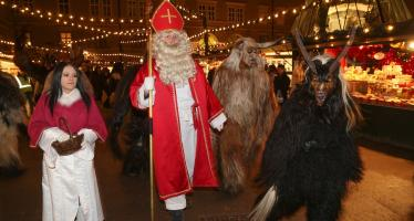 Krampus and St. Nicola